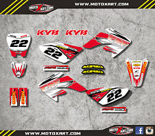 Honda CRF 70 - 2003 / 2011 SHOCKWAVE style graphics kit / stickers / decals