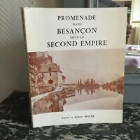 Promenade All'Interno Di Besançon Sotto Il Second Empire Andre E Robert Parete