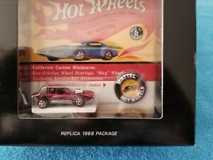 Hot Wheels RLC Original 16 Redline 1968 Package Cheetah