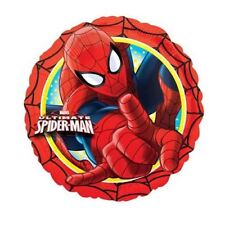 "Spiderman 17"" Round Foil Balloon - Marvel Superhero Birthday Party Decorations"