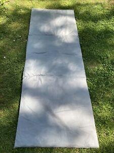 Auflage für Feldbett 190x67 cm grau