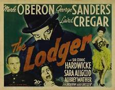 THE LODGER Movie POSTER 22x28 Half Sheet