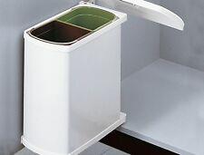 Hailo Duo Einbau Abfallsammler 3416-00 Mülleimer 2 x 8 Liter Küche