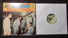 1979 Star Trek LP VG+/VG - Peter Pan Records Book And Record – BR 522