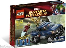 LEGO 6867, Loki's Cosmic Cube Escape,Opened box,Complete and Factory Sealed bags