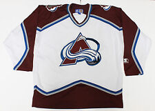 Colorado Avalanche Jersey Mens L Vintage 90s Starter Stitched NHL Adult Apparel