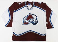 Colorado Avalanche Jersey Mens L Vintage 90s Starter Stitched NHL Adult Apparel