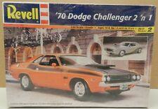 1970 SCAT PACK DODGE CHALLENGER T/A STOCK DRAG PRO STREET MOPAR REVELL MODEL KIT