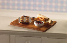 Jam Tart Baking Set, Doll House Miniature Kitchen Accessory Set, 1.12th Scale