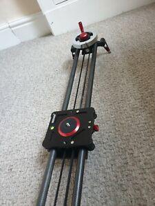 Neewer Camera Slider Video Track Dolly Rail Stabilizer: 39-inch/100cm, Flywheel