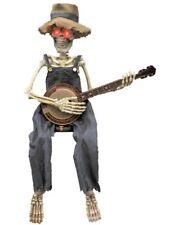 Animated Skeleton Playing Banjo
