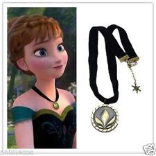 Frozen Princess ANNA CORONATION Resin CHOKER Necklace Pendant for Costume