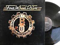 Bachman-Turner Overdrive – Four Wheel Drive LP 1975 Mercury – SRM-1-1027 VG+