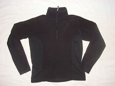 The North Face Half Zip Pullover Shirt Womens Small black Mock Neck RN 61661