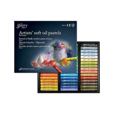 Mungyo MOPV-48 Artists' Soft Oil Pastels Set of 48 Assorted Color for Drawing