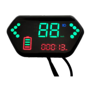 Electric Scooter Digital Display Speed Indicator Assembly LED Display Instrument
