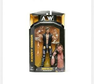 AEW Unrivaled Series 4 Kenny Omega Action Figure Brand New In Stock Now