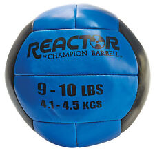 Reactor by Champion Barbell™ Medicine Ball 9-10lb - Blue