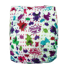 Cute Alva Reusable Washable Baby Cloth Diaper Nappy+1Insert for babies N37