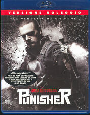 PUNISHER - ZONA DI GUERRA - BLU RAY (USATO EX RENTAL)