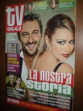 Tv Oggi.MARTINA STELLA & FRANCESCO FACCHINETTI,MASSIMO GHINI & ELENA SOFIA RICCI