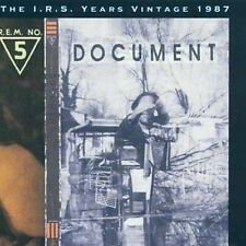 R.E.M. - Document by (CD, Mar-1999, I.R.S Records NEW