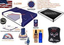 Cal King Semi Waveless LS2300 WATERBED MATTRESS W/ 12 Mil Liner & Digital Heater