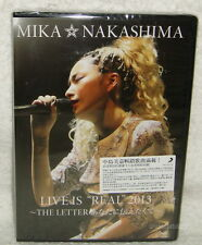 Mika Nakashima LIVE IS REAL 2013 THE LETTER Anata ni Tsutaetakute Taiwan 2-DVD