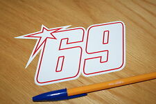 Nicky Hayden No69 2009 Race Number (Medium)