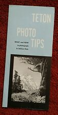 Grand Tetons Photo Tips Vintage What to Photograph in Jackson Hole Wyoming WY