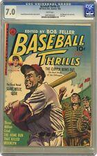 Baseball Thrills #3 CGC 7.0 1952 0097482003
