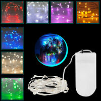 20 LED Fairy String Lights Battery Xmas Wedding Party Indoor & Outdoor Decor 2M