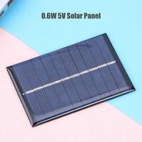 0.6W 5V 120mA Solar Cell Module Polycrystalline Solar Panel DIY Charger