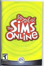 The Sims Online booklet