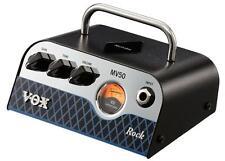 Kompaktes MV50 Rock Gitarren Topteil von VOX mit 50 Watt Leistung und UV-Meter