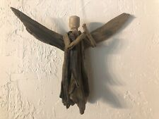 Driftwood Angel Hanging Art Beach Christmas Decor