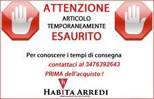 Mobile Lavello Cucina Bianco Tre Ante + Gocciolatoio DX o SX Acciaio Inox 120