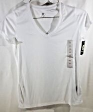 Champion Women's Tech T-Shirt Size XS X-SMALL True White A14-21