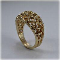 9ct Gold Braided Dress Ring
