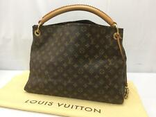 """Auth Louis Vuitton Monogram ARTSY MM Shoulder Tote Bag 8K120050"""""""