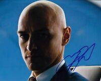 JAMES McAVOY signed Autogramm 20x25cm X-MEN In Person autograph XAVIER COA