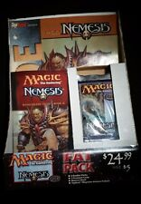 Magic: The Gathering MTG CCG factory sealed Nemesis Fat Pack