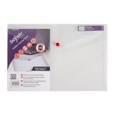25x SNOPAKE Polyfile transparent claire Papier ministre Stud Portefeuilles enveloppe dossiers