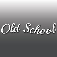 Old School Voiture Vinyle fenêtre/pare-chocs Autocollant Sticker Drôle Jdm, Ordinateur Portable, Style de vie