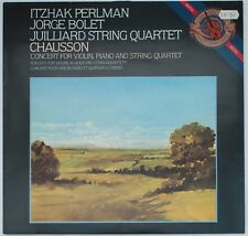 Chausson, Concert for Violin, Piano and String Quartet [CBS D37814]