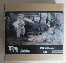 MAQUETTE MODEL KIT 1/35 WWII SURRENDER ! #2415 VERLINDEN
