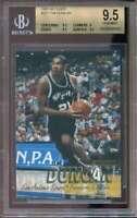 Tim Duncan Rookie Card 1997-98 Fleer #201 BGS 9.5 (9.5 9 9.5 9.5)