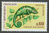 France 1971 MNH Mi 1771 Sc 1321 Reunion Chameleon.Nature protection **