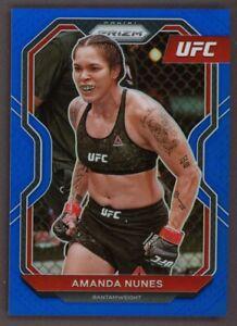 2021 Panini Blue Prizm UFC Amanda Nunes 75/199