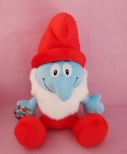 42cm Papa Smurf The Smurfs Movie Cute Soft Stuffed Plush Doll Kid Child Gift Toy